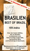Brasilien Best of Brazil pulped natural 500g