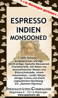 Espresso Indien Monsooned Robusta 250g
