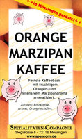 Orange-Marzipan Kaffee 500g