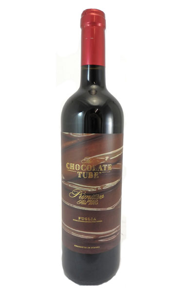 Primitivo The Chocolat Tube Mare Apulien 0,75l